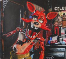 Foxy Five Nights At Freddy's by MiltonCesar