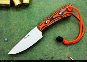Hunter Orange Knife by Logan-Pearce