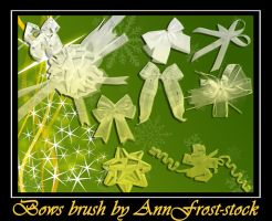 Bows brush by AnnFrost-stock