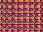 Fractal Tiles Stereogram by wolfepaw