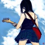 The Girl with the Red Fender by wredwrat