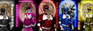 Power Rangers teaser banner by bienku