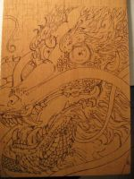 pyrograph dragon 02 by miguelcastrochemy