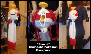 Chimecho Backpack by Tez-Taylor
