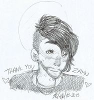 thank you, zayn by SiXProductions