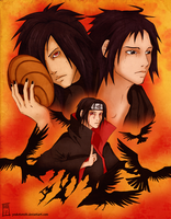 Itachi Tribute by DahliaDecay