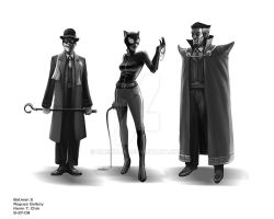 Batman 2 Rogues' Gallery 2 by Chenzan