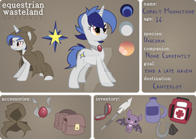 :Searcher: Cobalt Moonstone by Left2Fail