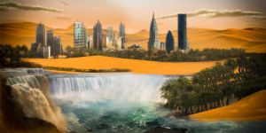 my first Matte painting by clashnorton