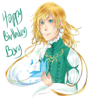 Happy Birthday Bory ! by FuonHicali