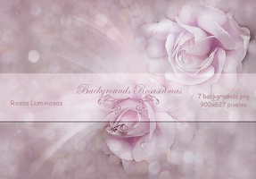 Pack Backgrounds -  Rosas Luminosas by ROSASINMAS