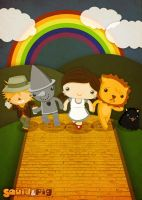 The Wonderful Wizard of Oz by SquidPig
