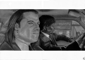 Pulp Fiction by marcelkiss