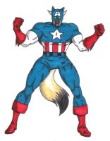 Captain America by Furries-of-marvel