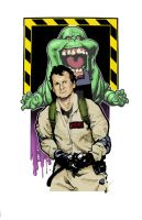 Ghostbusters by cityoftanis