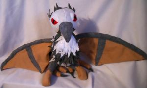 Bloodwing Plush -For Sale- by FuzzyAliens