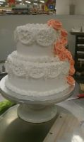 Laced Wedding Cake Demo by iBEurNoob