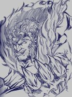 sketch: sabretooth by road2damascus