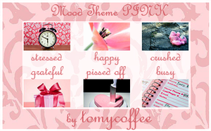 Pink Stock Mood Theme by tomycoffee