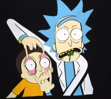 Rick and Morty T-Shirt (My Design) by WillardStilles