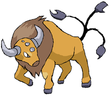 Tauros - HG+SS by Thundrbolt