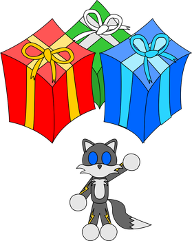 Happy Holidays to my friends that are Sonic fans! by BladeCut