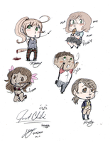 Just STP Chibis by Alexander-Rowe