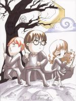 Mini Harry Potter Gang by AgnesGarbowska