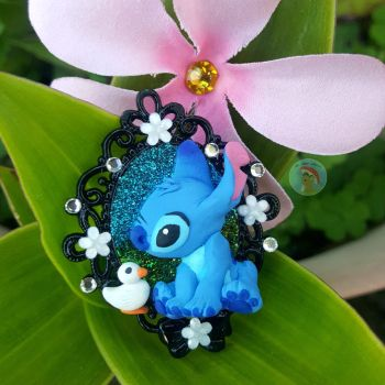 Stitch and Duckling by CreationsByMelissa