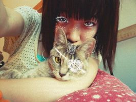 me and my cat by 29chelizi