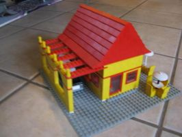 lego weinersnitzel by captain-awful