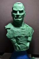 Punisher bust in progress by Ayante3d