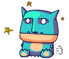 Shiny Munchlax!!! by GroudonMcL