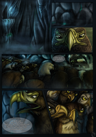 Crescent Wing- Prologue page 1 by Chaluny