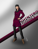 Shinjiro - Persona 3 by X-Fade