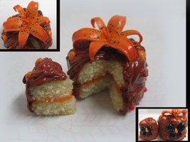 Tiger Lily Cake by WaterGleam