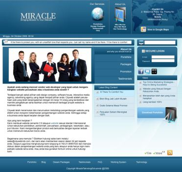 Miracle V4, 1st Draft by clouseth