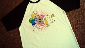 Fionna and Cake T-Shirt by entangle
