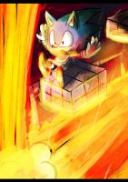 Classic Sonic ( Act's ) by Omiza