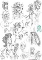 409 Sketchs 2014 Part1 by GALEKA-EKAGO