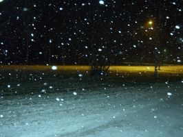 Snowstorm in Eastern Finland by Anri82