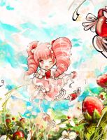 Strawberry Fairy by eikomakimachi