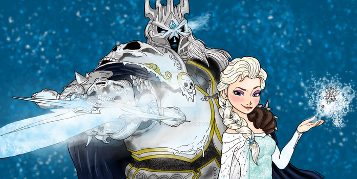King and Queen in the North by Lykos-91