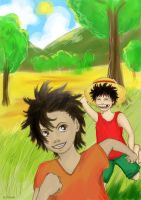 OP: Brothers: Old Times... by Ci-chan91