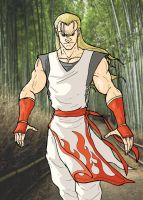 Fatal Fury: Andy Bogard Pin Up by Marvin000