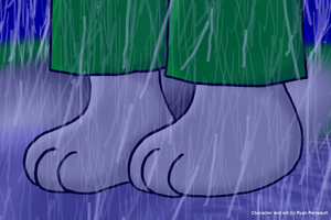 COMM Close up of my feet by RyanEchidnaSEAL