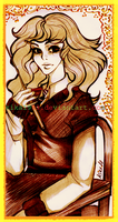 Hermione Granger:commission by kika1983