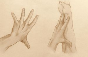 Hands practise 6. by Kiara2909