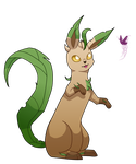 Leafeon by Lunitidal