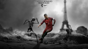 Cristiano Ronaldo Wallpaper (Portugal) by RakaGFX